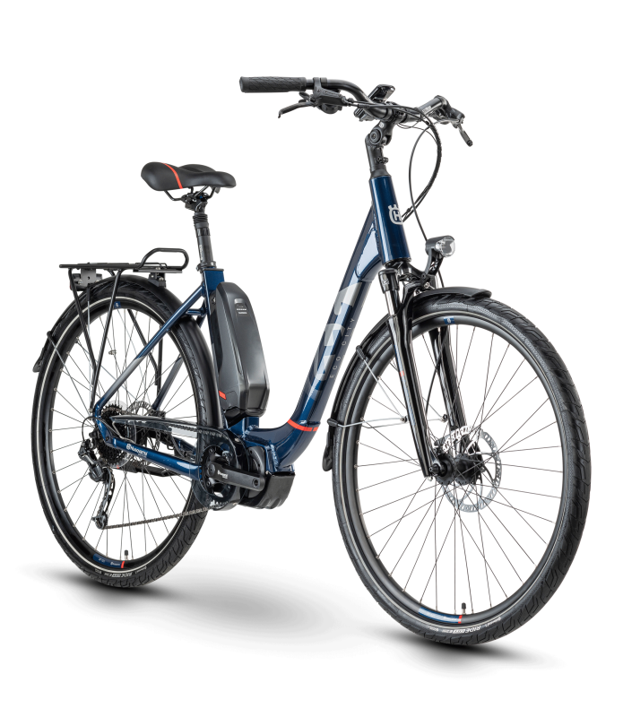 Husqvarna Bicycles Eco City 3 Blue / Red 48